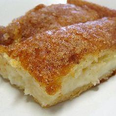 Sopapilla Cheesecake.  OMG this stuff is amazing!!!