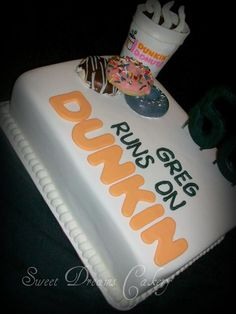 Sweet Dunkin Donuts Cake I Would Even Love This As My Birthday Altho