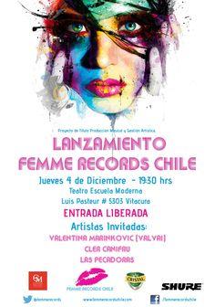 Lansamiento Femme Records