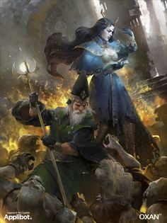 Art Level: Over 9000! - Card Illustrations for Legend of the ...