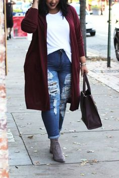 size winter outfits casual 5 Slimming Winter Outfits to Keep You from Snowman Status Casual Winter Outfits, Plus Size Winter Outfits, Winter Mode Outfits, Plus Size Fall Outfit, Winter Outfits Women, Winter Fashion Outfits, Fall Fashion Trends, Outfits For Teens, Plus Size Outfits