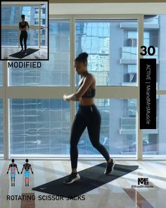 Fitness Workouts, Hiit Workout Videos, Full Body Hiit Workout, Hiit Workout At Home, Gym Workout For Beginners, Gym Workout Tips, Workout Challenge, Treadmill Workouts, Fat Workout