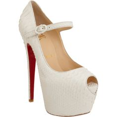Christian Louboutin Lady Highness ($1,695) ❤ liked on Polyvore