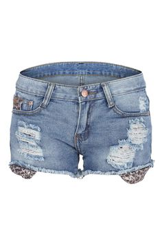 Shop Sequin Detailed Distressed Shorts at ROMWE, discover more fashion styles online. Jeans Pants, Jean Shorts, Distressed Shorts, Romwe, Warm Weather, Sequins, Detail, My Style, Giveaways