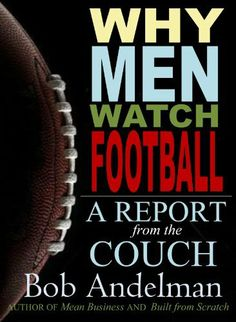Why Men Watch Football - A Report from the Couch by Bob Andelman, http://www.amazon.com/dp/B00HAQVRPE/ref=cm_sw_r_pi_dp_PjnSsb1Z0FBE7