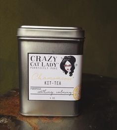Chamomeow Kit-Tea by Crazy Cat Lady