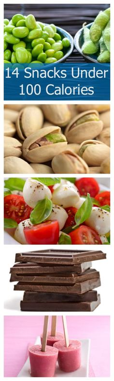 We love low calorie snacking these are all under 100 calories!