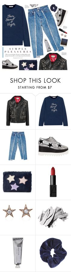 """""""simple pleasures"""" by valentino-lover ❤ liked on Polyvore featuring Gucci, Bella Freud, BONUM, STELLA McCARTNEY, NARS Cosmetics, Bobbi Brown Cosmetics, Bloomingville and Miss Selfridge"""