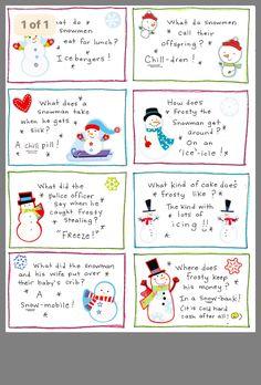 Christmas Jokes For Kids, Christmas Riddles, Christmas Party Games, Christmas Activities, Christmas Printables, Christmas Traditions, All Things Christmas, Holiday Fun, Christmas Holidays