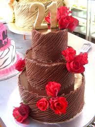 3 tier chocolate cake - Google Search