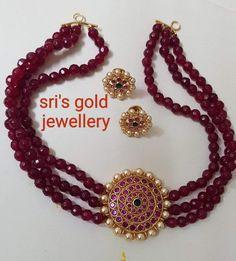 Jewelry Design Earrings, Gold Earrings Designs, Gold Jewellery Design, Bead Jewellery, Necklace Designs, Gold Jewelry, Trendy Jewelry, Pearl Set, Chains