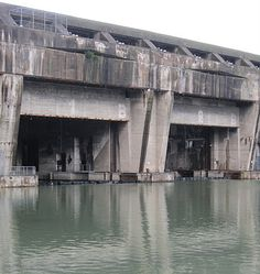 La base sous-marine: the ghostly WW2 u-boat pen. Bordeaux, France.