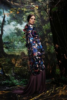 Valentino Haute Couture Editorial for Vogue Italia March 2014