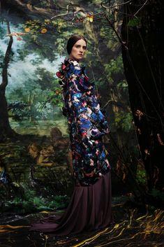 Valentino Haute Couture Editorial for Vogue Italia March 2014