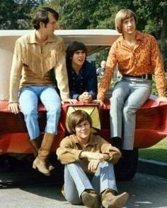 The Monkees (Mike Nesmith, Davy Jones, Peter Tork, Micky Dolenz) #Monkees