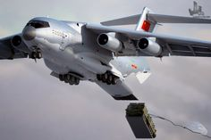 CGI of Chinese Y-20 Heavy Military Transport Aircraft In Action | Chinese Military Review
