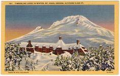 Timberline Lodge, Mt. Hood, OR
