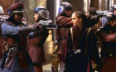 """Put down your weapons. They win this round."" - Padmé"