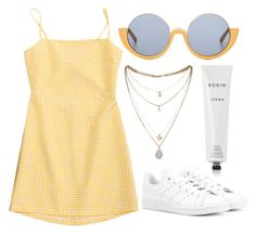 """""""Untitled #578"""" by mora-143 ❤ liked on Polyvore featuring Miss Selfridge, adidas Originals, Rodin and Marni"""