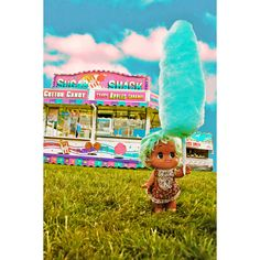 cotton candy print aceo size SUGAR SHACK SNACK by boopsiedaisy