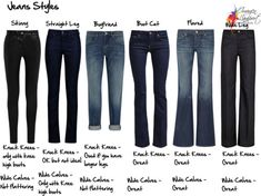jeans styles for knock knees