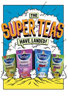 "Check out this @Behance project: ""Tetley Super Teas"" https://www.behance.net/gallery/44423569/Tetley-Super-Teas"
