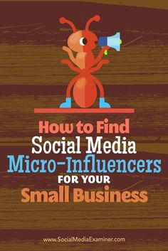 Want to promote your small business on a budget?  Highly targeted micro-influencers can help your small business gain visibility, engage an audience, and promote your products. Via /smexaminer/.