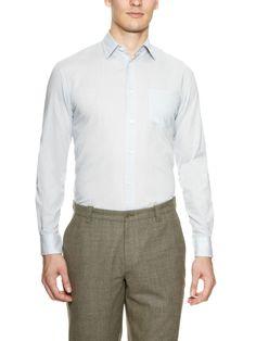 Slim-Fit Solid Sport Shirt by John Varvatos at Gilt