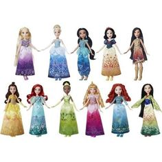 ICYMI: Poseable Princess 11 Doll Set Collection Disney Outfits Shoes Accessories Gift