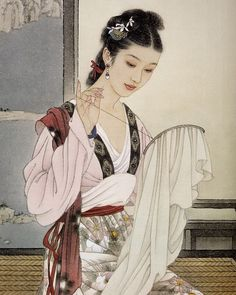 Belleza japonesa. Sin datos del artista.