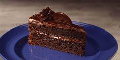 "Nothing says ""celebration"" like frosted chocolate layers!"