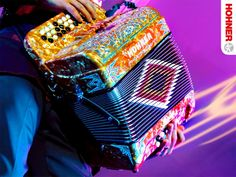 """Eduardo Hernandez of Los Tigres Del Norte playing an Anacleto Accordion.      Hohner, Inc. and the """"Anacleto"""" line of accordions are  not connected to, approved by, or otherwise related in any way to Gabbanelli Accordions & Imports, L.L.C. of Houston, Texas."""
