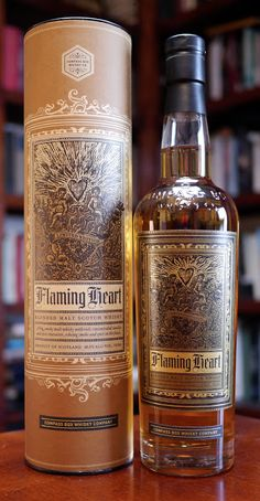 The Compass Box Flaming Heart 2012 Limited Edition Blended Malt Scotch Whisky