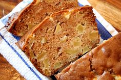This is a breakfast loaf that is full of apple chunks. It's slightly sweet with a hint of fall spices. It's so simple to make… and bake… and eat. Apple Cider Bread