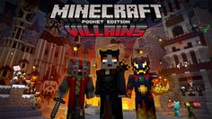 Super cheap Minecraft Villains Skin Pack available to purchase now on Xbox One and Xbox 360 Mine Minecraft, Minecraft Games, How To Play Minecraft, Windows 10, Minecraft Official Site, Xbox One, Playstation, Plastic Texture