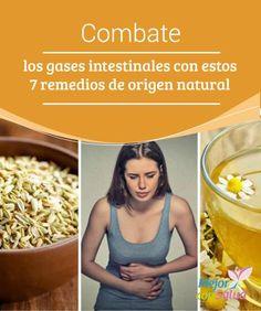 Combate los gases intestinales con estos 7 remedios de origen natural   Las propiedades #Carminativas de algunos ingredientes naturales nos facilitan el control de los #GasesIntestinales. Te compartimos los 7 mejores. #RemediosNaturales