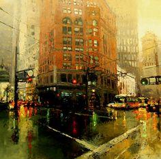 Las ciudades de pintura de Jeremy Mann - Cultura Colectiva - Cultura Colectiva