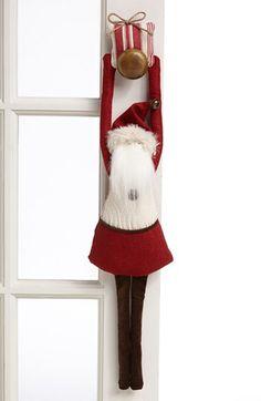 Woof & Poof Santa Door Hanger available at #Nordstrom