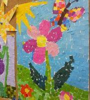 Tavasz :: Óvoda Kindergarten, Diagram, 1, Baba, Kids, Painting, Paisajes, Dashboards, Mosaic Art