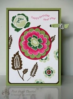 Stampin' UP!  Array of Sunshine