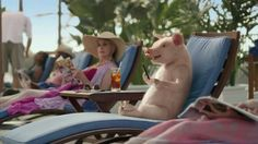 Boots and Pants - Geico Commercial - Maxwell the Pig