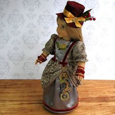 Steampunk Christmas_1 by Sew Fun Doll Clothes, via Flickr