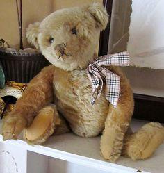 Wonderful Antique Steiff Teddy. Photo via Ebay