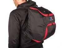 The BLS VeloRacing Backpack is a compact cycling race day backpack handmade in Cape Town, South Africa. Cycling Bag, Day Backpacks, Race Day, Girls Be Like, All In One, Compact, Rain Jacket, Windbreaker