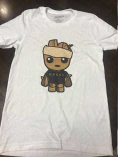 85cef37e Baby Groot Gucci Shirt / Baby Groot Gucci Tee / Baby Groot T-Shirt by