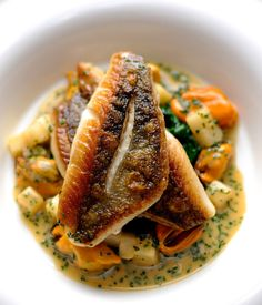 John Dory is a beautifully firm, white fleshed fish that is wonderfully prepared in William Drabble's recipe with mussels.