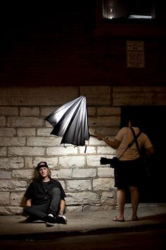 tips for flash and umbrella