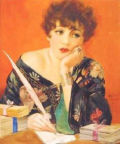 1920's Henry Clive Print................