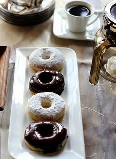 A fter Croissants the family choice is doughnuts or donuts for quick filling bites on the go while abroad trips. They are easy to be ...