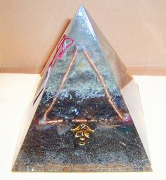 ORGONITE Pirate Themed XL pyramid 6 base X by LIONSDENgiftNcrafts